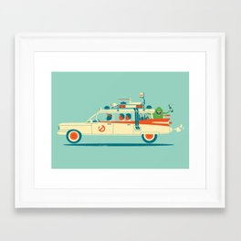 Party in the Back Framed Art Print