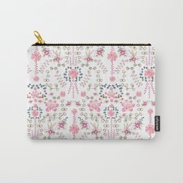 BABYLON~ Floral Trail Watercolor Carry-All Pouch