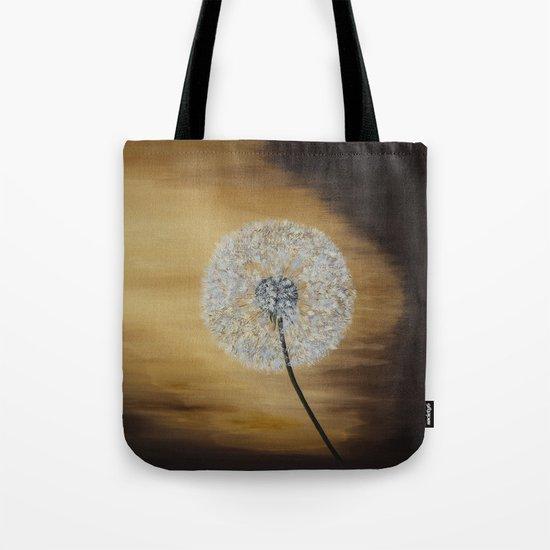 Dusky Dandelion  Tote Bag