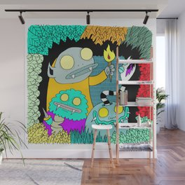 Forest Creeps Wall Mural