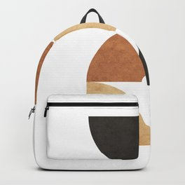 A Game of Quarters 2 - Minimal Geometric Abstract Backpack