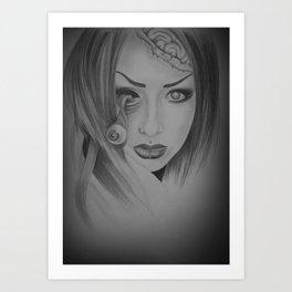 Devines zombies #5 Art Print