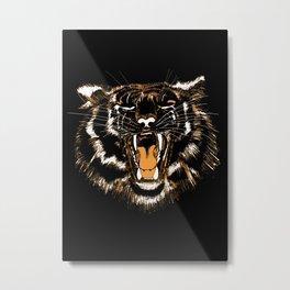 Roar Tiger Metal Print