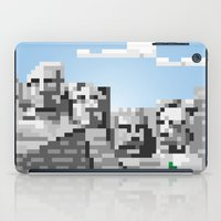 rushmore iPad Cases featuring south dakota rocks by michael batista