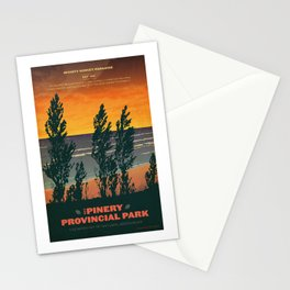 Pinery Provincial Park Poster Stationery Cards