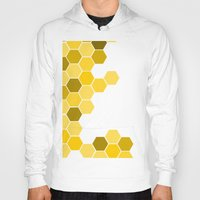 honeycomb Hoodies featuring Honeycomb by KelC