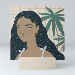 el verano Mini Art Print