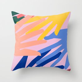 Global Hands 2 Throw Pillow