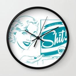 Shit!  Wall Clock