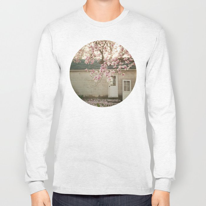 Magnolia Tree  Long Sleeve T-shirt