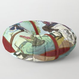 Diaster Tieflings Floor Pillow
