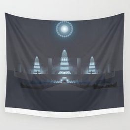 ▲ T L ▲ N T I S • N I G H T Wall Tapestry