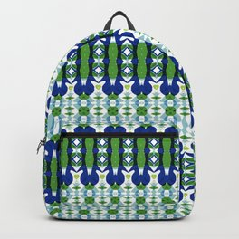 Blue and Green Calm Backpack