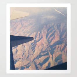 From the Air. Art Print
