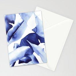 Royal Blue Palms no.1 Stationery Cards