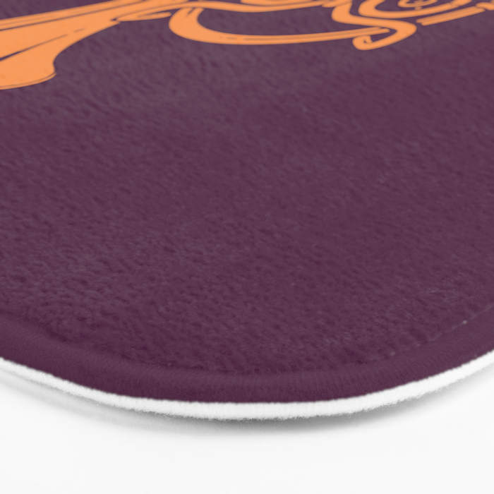 Sunset Melody Bath Mat