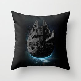 Stealth Falcon Throw Pillow