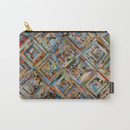 Texas Kaleidoscope Carry-All Pouch