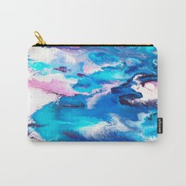 Turuoise Flow Carry-All Pouch
