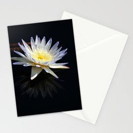 White Water Lily- vertical Stationery Cards