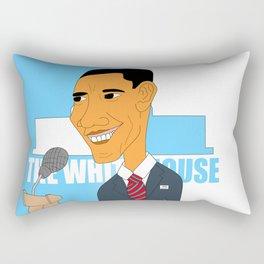 Obama Elections 2012 Rectangular Pillow