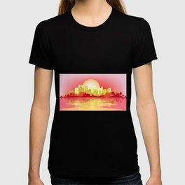 City At The Dusk T-shirt