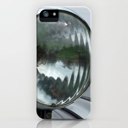vintage silver auto iPhone Case