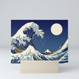 Rogue Wave at Kanagawa Mini Art Print