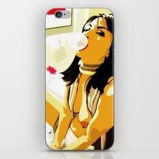 Bubblegum Girl iPhone & iPod Skin
