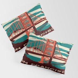 Vintage poster - San Francisco Pillow Sham