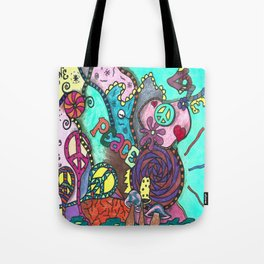 Love For Peace Tote Bag
