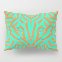 Carmel and Mint Pillow Sham