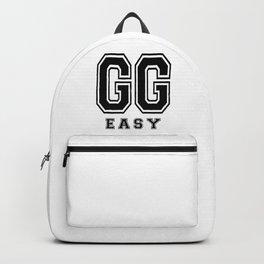 GG Easy, gamer t shirt, gamer poster, Backpack