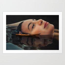 Sleep Island Art Print