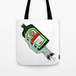 Jagermister Zombie Tote Bag
