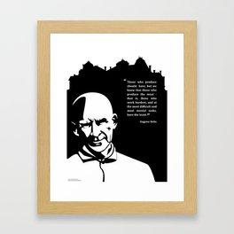Pro-labor Quote (Eugene Debs) Framed Art Print