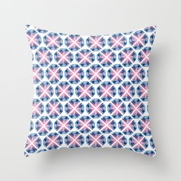 BP 81 Diamonds Throw Pillow