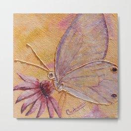 Little mirror butterfly | Petit Miroir papillon Metal Print