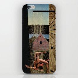 Outdoor shower iPhone Skin
