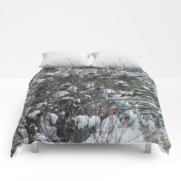 Snow Wishes Comforters