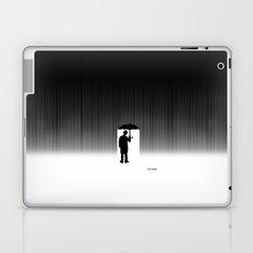 Charlie Chaplin Under The Rain Laptop & iPad Skin