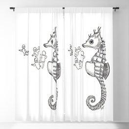 Sea horse Blackout Curtain