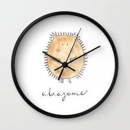 Abrázame Wall Clock