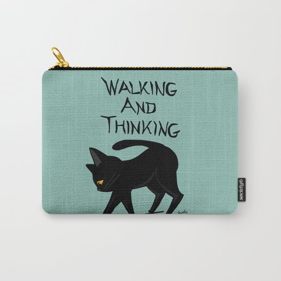 Walking and thinking Carry-All Pouch