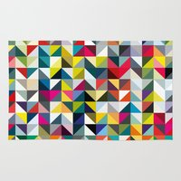 book cover Area & Throw Rugs featuring 100 book cover colours by Coralie Bickford-Smith