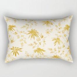 Golden daisies Rectangular Pillow