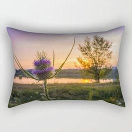flowering teasel Rectangular Pillow