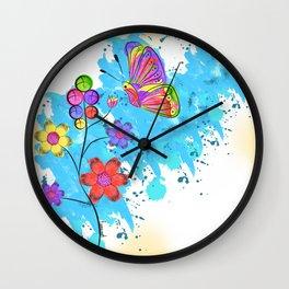 Season of Colors Wall Clock