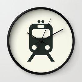 Train Wall Clock