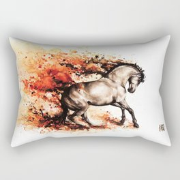 """Energy"" Rectangular Pillow"